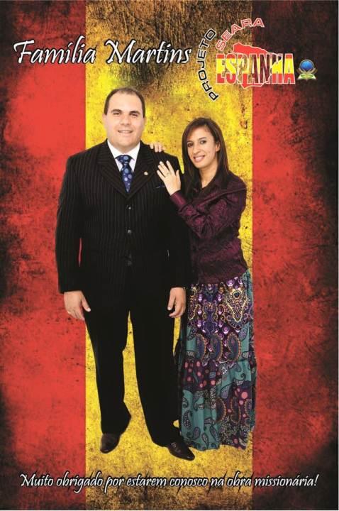 Pr. Marcelo e Vania Martins